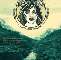 Cartel La Condená/cerveza artesana. Un proyecto de Diseño gráfico de di_sonadora         - 12.09.2017