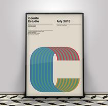 Poster para COMITÉ estudio. A Graphic Design project by Yeray Vega Fernandez de Labastida         - 13.10.2017