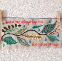 Bordados. Un proyecto de Artesanía de María Maeso Cano - 13-10-2017