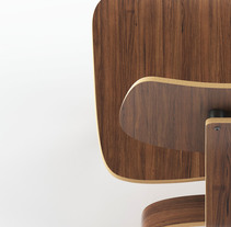 Eames Wood Chair. A 3D&Industrial Design project by Eduardo Martin Marquez - 17-10-2017
