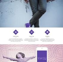 Página web personal. Um projeto de Design e Web design de Edith Llop Roselló         - 01.04.2017