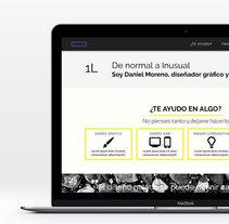 Sitios y proyectos web. A Advertising, Graphic Design, and Web Design project by Daniel Moreno Laso - 20-10-2017
