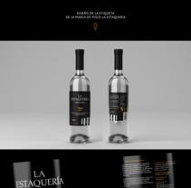 Etiqueta de Pisco. A Graphic Design project by Mario Jhair Acuña Ayala         - 10.09.2017