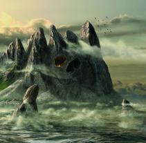 Isla Calavera. Un proyecto de Ilustración de Luis Costales Ponga - 20-08-2017