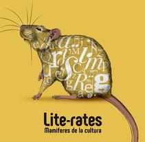 Lite-rates. Mamíferes de la cultura 2016. Um projeto de Design e Ilustração de Lídia Díaz         - 23.10.2017