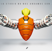 Naranja Studio. A Design, and 3D project by neoduo_85         - 24.10.2015