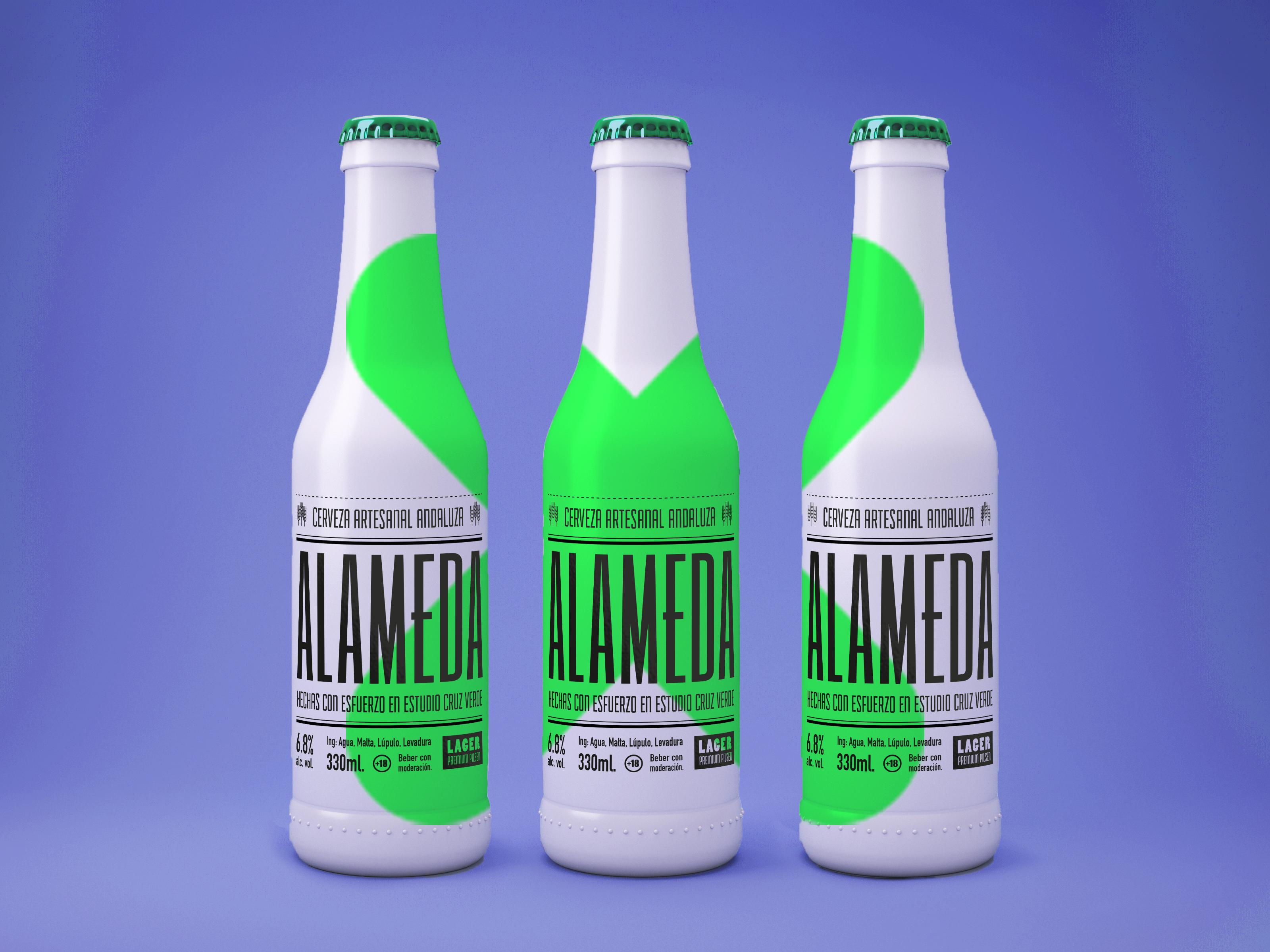animación una cerveza