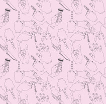 war of hands. A Design, Br, ing, Identit, Graphic Design, and Pattern design project by Laia Blade - 27-10-2017