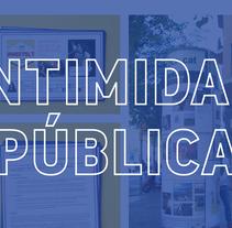 Intimidad pública: Experimento social. A Graphic Design, Video, and Social Media project by Laura Jorba Torras         - 27.10.2017