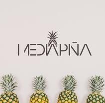 Media Piña. Un proyecto de Diseño, Ilustración y Consultoría creativa de Srta. L. Figueredo - 29-10-2017