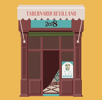 El Tabernario. A Illustration, Art Direction, Graphic Design, and Vector illustration project by Miguel Ferrera García - 30-10-2017