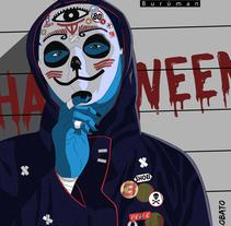 Its Halloween! (Burūman series). A Illustration project by I P LOBATO         - 01.11.2017