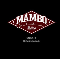 MAMBO TATTOO ALICANTE DISEÑO DE LOGOTIPO. A Design, and Marketing project by Diego  Gómez - 01-11-2017