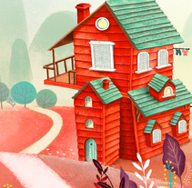 HOME. A Illustration project by Maria Lumbreras         - 09.09.2015
