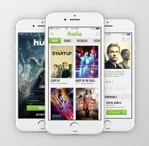 Hulu APP propuesta. A Design, and UI / UX project by Gerardo Daglio López         - 04.11.2017