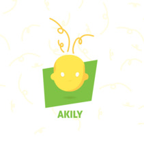 Branding | Akyli App. A Graphic Design, Multimedia, and Vector illustration project by by Andrea Suarez - 08-07-2017