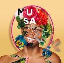 Título: Musa. | Proyecto: Yo y las ideas.. Un proyecto de Diseño y Diseño gráfico de Ignacio Fdez.         - 11.11.2017