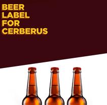 Etiquetas Cerberus. Um projeto de Design, Design gráfico, Design de produtos e Tipografia de Pau Juárez León         - 11.11.2017