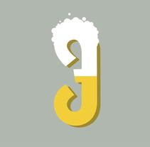 36 Days Of Type #04 - Alfabeto numérico. Um projeto de Design e Ilustración vectorial de Marina Malmar         - 05.04.2017