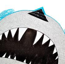 Autorretrato. A Illustration, and Paper craft project by Alba Mezcua         - 10.05.2013