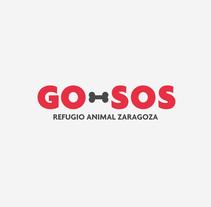 GO-SOS / Refugio Animal Zaragoza / Branding. Un proyecto de Br e ing e Identidad de Pistacho Studio  - 16-11-2017