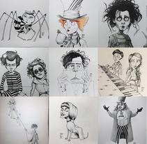 Inktober '17. Un proyecto de Ilustración y Diseño de personajes de Inma MC         - 07.12.2017