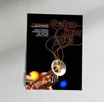 GETXO JAZZ propuesta concurso cartel y branding. Un proyecto de Br e ing e Identidad de Iñaki Arrieta Sánchez         - 17.11.2010