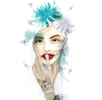 Nocturna. Un proyecto de Ilustración de Angy Avendaño - 20-11-2017