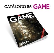 Catálogo 86 GAME. A Graphic Design project by Fernando Escolar López-Roso - 24-11-2017