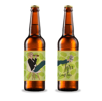 Tipa, Cerveza Artesana. A Illustration, Br, ing, Identit, Graphic Design, and Packaging project by Inmaculada Jiménez         - 29.11.2017