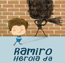 Ramiro Heroia da/ Ramiro es un Héroe. Um projeto de Ilustração, Design editorial e Educação de Marta  Mayo Martín - 19-06-2016
