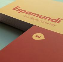 Espamundi. Un proyecto de Br, ing e Identidad, Diseño gráfico y Diseño Web de Alex Zorita         - 02.12.2017