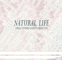 """NATURAL"" SPRING SUMMER COLLECTION. Um projeto de Design e   Moda de Diana JF         - 03.12.2017"