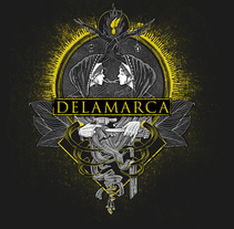 camiseta Delamarca. A Illustration project by imatarin         - 06.12.2017