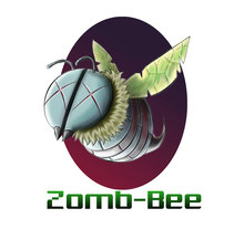 Zomb-Bee Art . A Illustration, and Comic project by Diego Zárraga Vallejo         - 08.12.2017