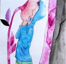 Pulgarcito-Mi Proyecto del curso: Introducción a la ilustración infantil. A Illustration project by adele corrado - 15-12-2017