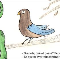 """""""La Ranita"""" Introducción a la ilustración infantil. A Illustration project by Ceskus Ilustrador         - 17.12.2017"""
