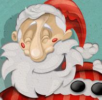 Merry Christmas - Feliz Navidad. Un proyecto de Ilustración y Diseño de personajes de Martin Mariano Hernandez Tena - 21-12-2017