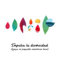 Apoya al pequeño comercio local. A Collage project by María  León         - 20.12.2017