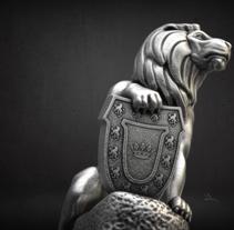 12 Leones (Estatua). A 3D, Accessor, Design, and Sculpture project by Pedro Herrador         - 29.12.2017
