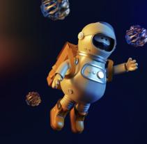 Space. Um projeto de Design, Ilustração, Direção de arte e Design de personagens de Juan Afanador         - 02.01.2018