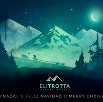 Navidad. A Illustration, Fine Art, and Vector illustration project by Eli Trotta Sanz - 08-01-2018