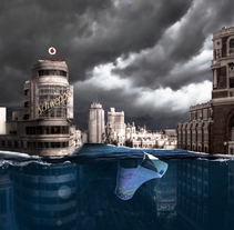 Madrid Bajo Agua. A Digital retouching project by Mariangeles Valero         - 01.06.2017