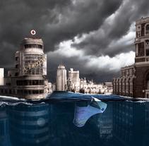 Madrid Bajo Agua. Un proyecto de Retoque digital de Mariangeles Valero         - 01.06.2017