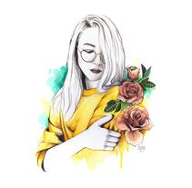 Elena. Un proyecto de Ilustración de Paqui Cazalla         - 19.11.2017