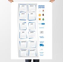 Calendario 2018 . Um projeto de Design gráfico de Boris Campanyà Llebaria         - 01.12.2017