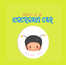 'Stories of an Icecream Car' WIP. A Illustration, and Animation project by Lorena Díaz Arrondo - 17-01-2018