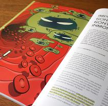 Impulsos confesables contra células inmortales (Principia Magazine nº5). Um projeto de Ilustração e Design editorial de Luis Armand Villalba         - 23.06.2017