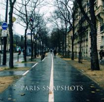 Paris Snapshots. A Advertising, Photograph, Film, Video, TV, Marketing, Multimedia, Post-Production, Film, Video, TV, Stop Motion, Production, and Digital retouching project by Ander Goikoetxea Perez         - 23.01.2018