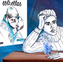 Book trailer del libro: El Chico de las Estrellas. Un proyecto de Cine, vídeo, televisión, Animación, Diseño de personajes, Diseño gráfico y Animación de personajes de alexander_fabrega         - 23.01.2018